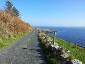 Ireland Cycling Vacations, Coast near Kilcar