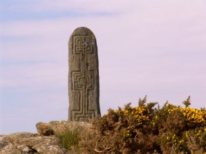 Cycling Vacations Ireland TCH Standing Stone Glencolmcille
