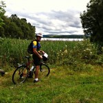 Custom bike tour, Paul at Glenfarne Wood, Leitrim, Ireland