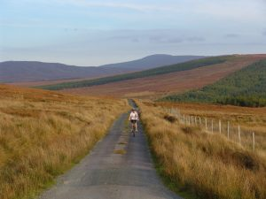 Cycling from Glencolmcille to Ardara
