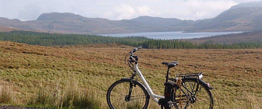 Donegal is flat with electric bike tours