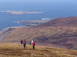 Hiking on Sliabh Liag, Donegal, Ireland