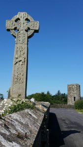 La croix de Drumcliffe sur un circuit à vélo Sligo