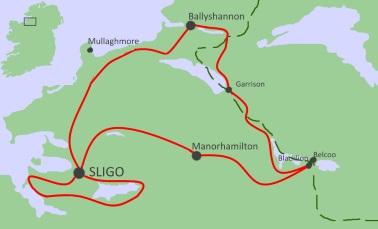 6 jours sportif à vélo à Sligo