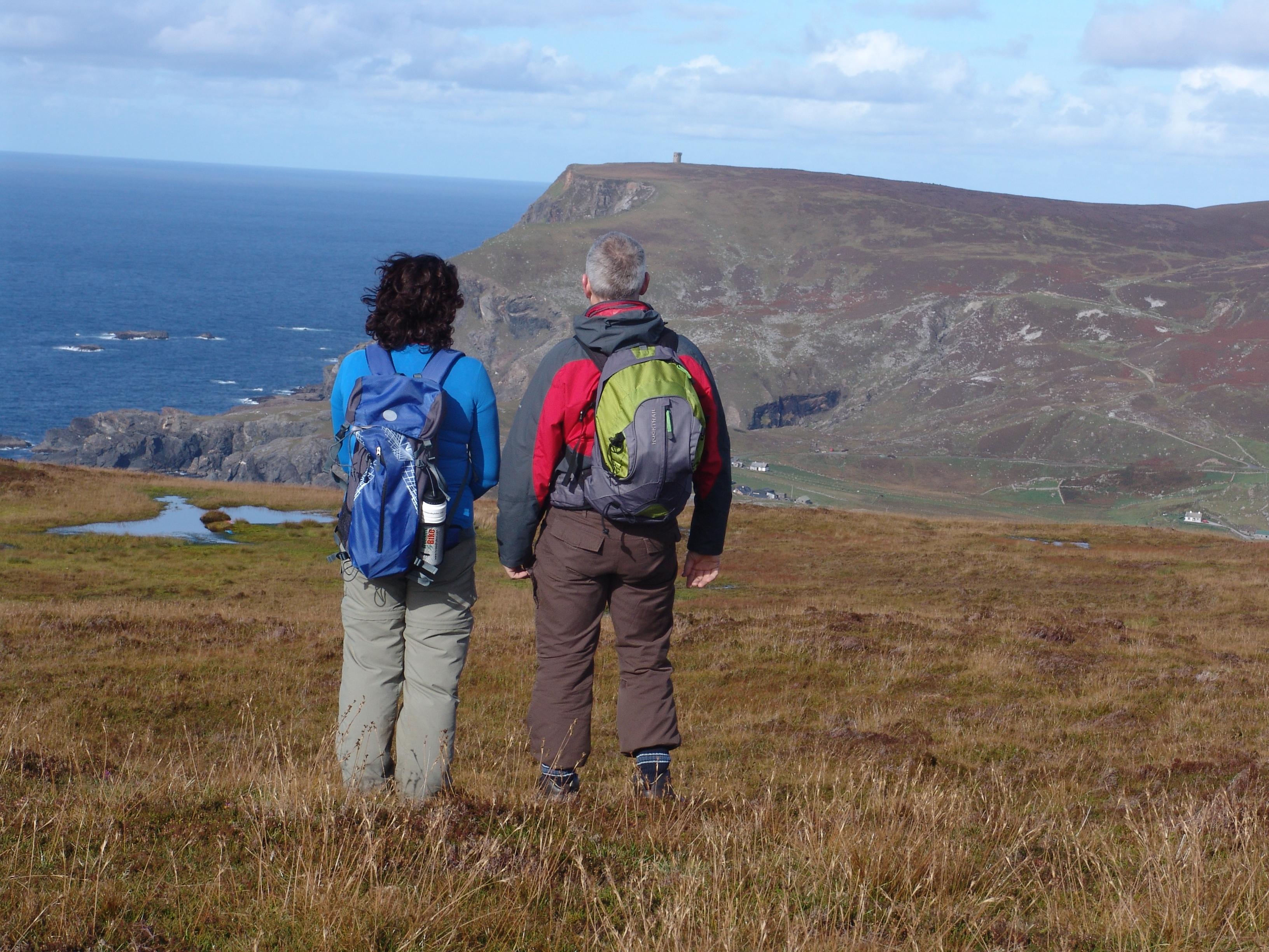 Randonnée dans le Donegal