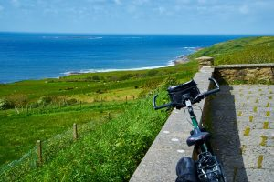 cycling and hiking tour, Donegal, Ireland.