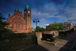 Bikiing Holiday at the Guildhall Derry