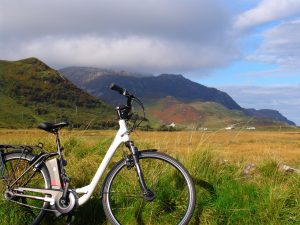 Cycling in Ireland with and E-bike