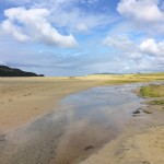 One of the many magnificent beaches which are waiting to be discovered on your bike tour in Donegal on the Wild Atlantic Way