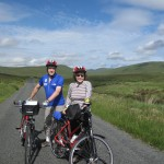 Mandy and Kathryn, cycling holiday, Donegal, Ireland