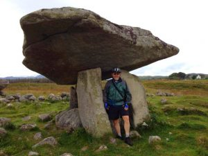 Relaxed Cycling Vacations Ireland. At Kilclooney Dolmen
