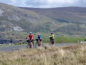 cycling near Glencolmcille, Donegal, Ireland