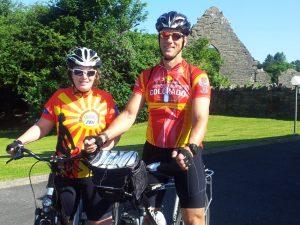 Vacances à vélo, Irlande, Abbaye de Donegal