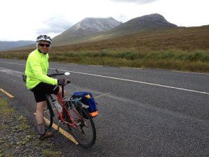 Irlande à vélo. Mount Errigal. Vacances à vélo avec Ireland by Bike