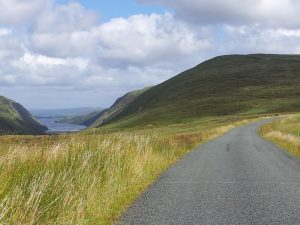 Glenveagh, Donegal on Backroads and Beyond cycling and walking tour.
