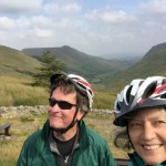 Stever and Jenny in Glengesh