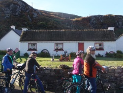 Bike tour in donegal Ireland.