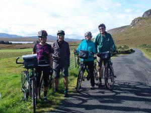 Séjour à vélo en Irlande, Gleveagh, Donegal