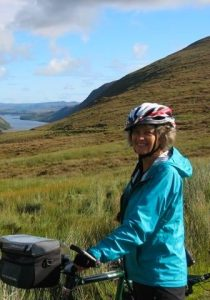 Cycling at Glenveagh, Ireland