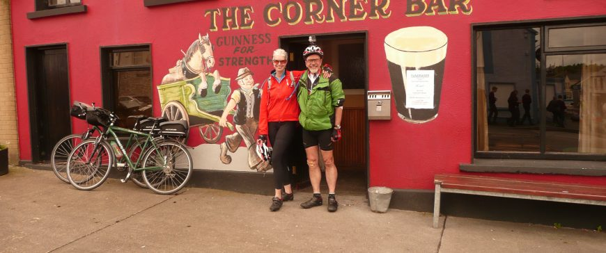 Self-guided bike vacation in Ireland