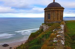 Biking Holiday Northern Ireland. Mussenden Temple