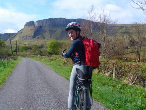 Bike tour at Eagles Rock, County Leitrim, Ireland
